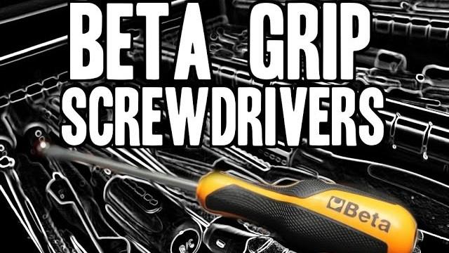 Real Tool Review of Beta Tools Grip Screwdrivers, No. 1263/D10 Video