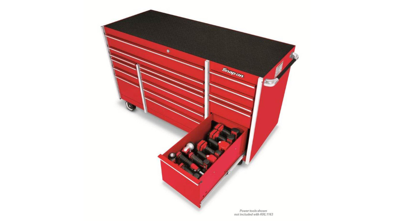 Large Tool Chest Top Cabinet Top Box And Rollcab Box us Ball Bearing Slides 72 Master Series Roll Cab