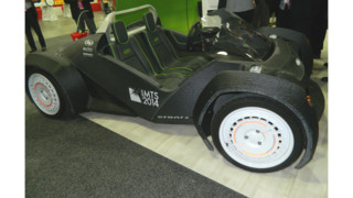 3-D printed vehicle unveiled at NAIAS