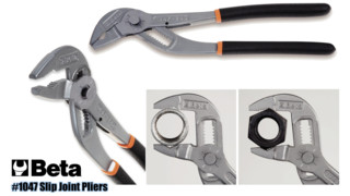 Push-Button Slip-Joint Pliers, No. 1047