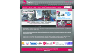 BettsTruckParts.com new website