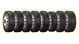 Dayton Line of Commercial Truck Tires
