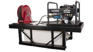 Truck-mounted Pressure Washer Rig, No. CP6490