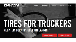 Bridgestone Commercial's website DaytonTruckTires.com