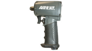 "AIRCAT Pneumatic 1/2"" Compact Impact Wrench, No. 1055-TH"