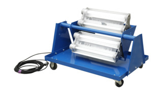 Explosion Proof Light Cart, No. EPLC-24-4L-LED