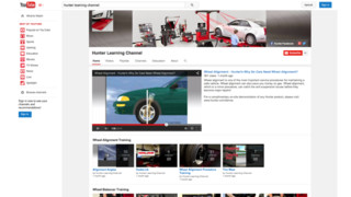 Hunter unveils new technical and training-specific YouTube channel