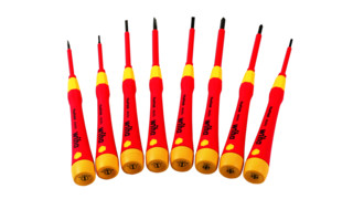 Insulated 1000Volt Slotted and Phillips PicoFinish Screwdrivers