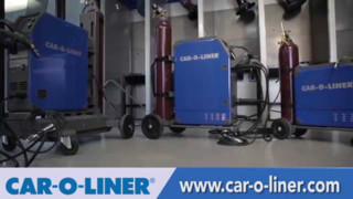 Car-O-Liner MIG Welders for Aluminum Vehicle Collision Repair Video