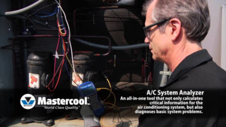 Mastercool AC System Analyzer Video