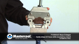 Mastercool 71550 A/C Hose Crimper Video