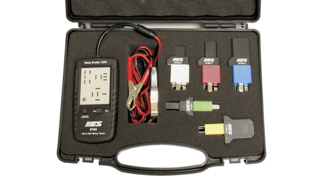 Diagnostic Relay Buddy 12/24 Pro Test Kit, No. 193
