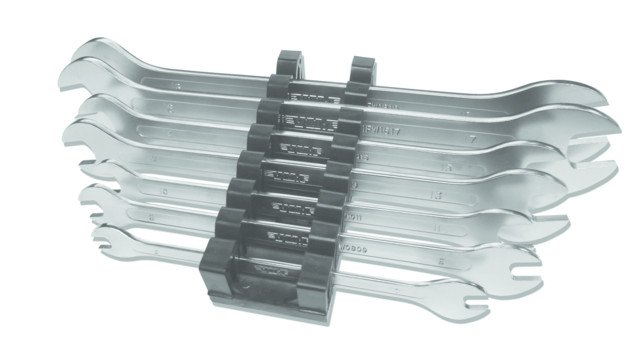 Metric Flat Wrench Set, No. MFW100