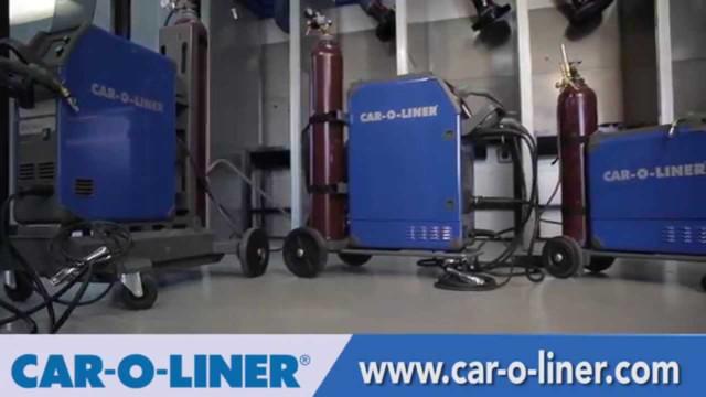 Car-O-Liner MIG Welders for Aluminum Vehicle Collision Repair Video