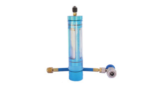 Heavy Duty A/C Oil Injector