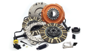 Diesel Twin Clutch Kit, No. 04026651