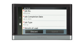 Garmin custom forms