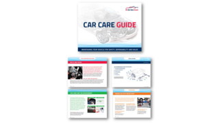 Car Care Guide available to order in advance of National Car Care Month in April