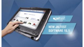 Jaltest Multibrand and Multisystem Diagnostics Tool, Version 15.1