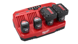 M12 Four Bay Sequential Charger, No. 48-59-1204