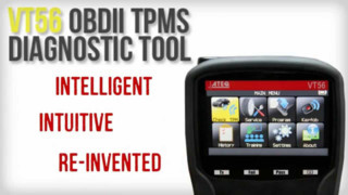 ATEQ VT56 OBDII Diagnostic TPMS Tool Video