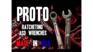 Real Tool Reviews' Proto ASD Ratcheting Spline Combination Wrenches Video