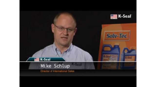 Solv-Tec K-Seal leak sealer demonstration Video