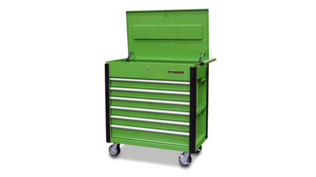 Professional 6 Drawer Service Cart, No. 24969