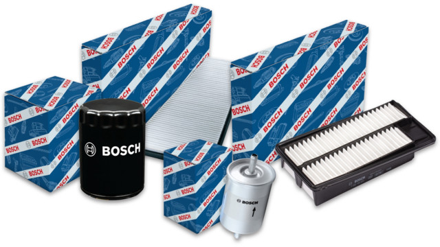 Bosch includes engine air filters in Workshop Filter line