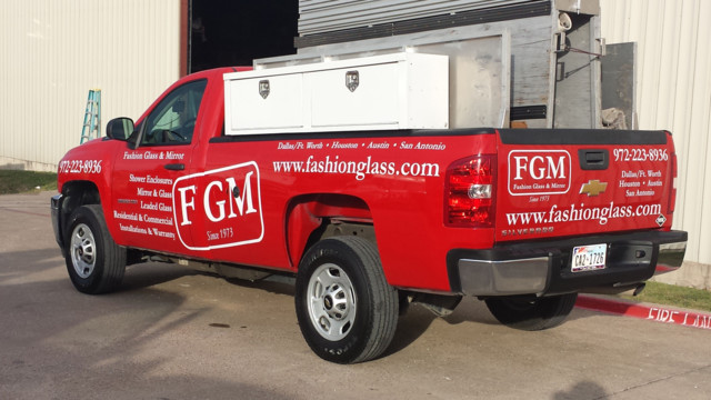 Fashion Glass & Mirror taps propane autogas for fleet vehicles