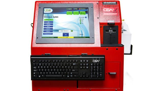 TruckCheck fluid testing system