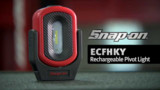 Snap-on Rechargeable Pivot Light Video