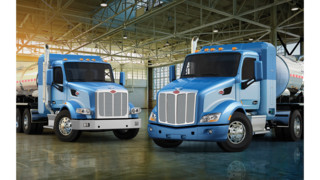Peterbilt Models 579, 567 available with LNG power