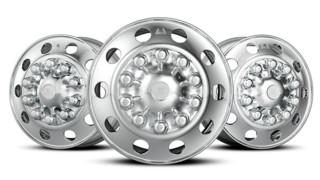 Dura-Bright EVO aluminum truck wheel