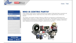 Centric Parts Debuts sales training tools