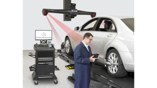 Mercedes-Benz approves use of Hunter HawkEye Elite for use in shops worldwide