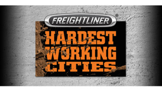 Freightliner launches Hardest Working Cities program
