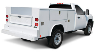 Classic II aluminum service body