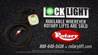 Rotary Lift LockLight lifting accessory video