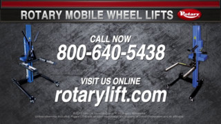Rotary Mobile Mobile Wheel Lift Video