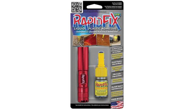 RapidFix UV liquid plastic adhesive