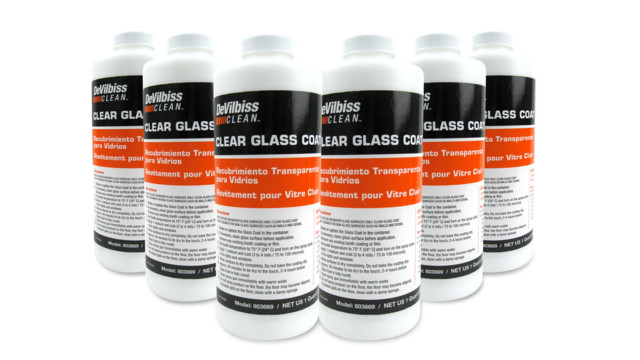 Clean Clear Glass Coat