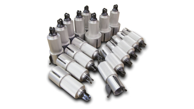 Aluminum Collet Kit, No. 128-540-200