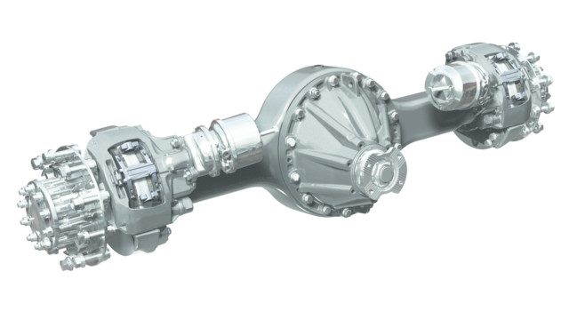 Dana debuts high-performance single-reduction axles for 6x2, 4x2 applications at MATS
