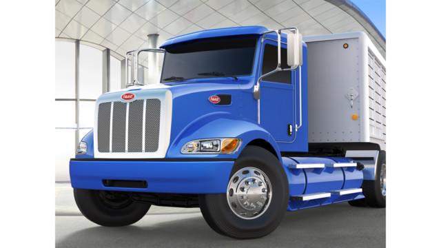 Peterbilt launches medium duty CNG vehicle platform