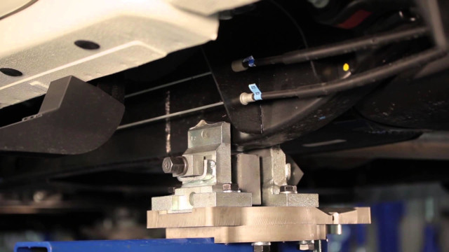 Car-O-Liner Benchrack Structural Frame Alignment Truck Anchoring Video