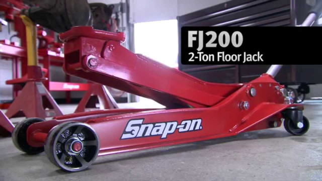 Snap-on 2-Ton Floor Jack Video