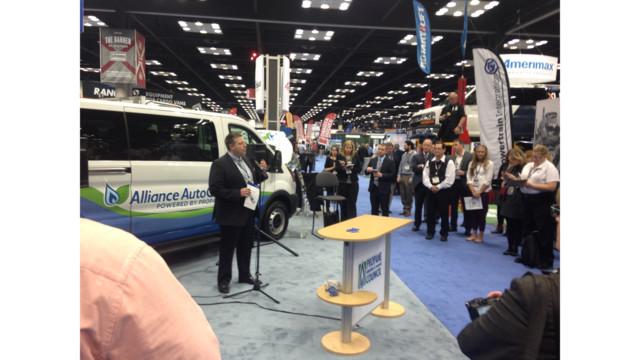 Alliance AutoGas announces bi-fuel autogas conversion system on Ford Transit wagon