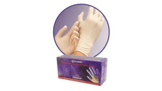 Explorer latex powder-free gloves