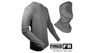 AR Defense Base Layer balaclava and shirts